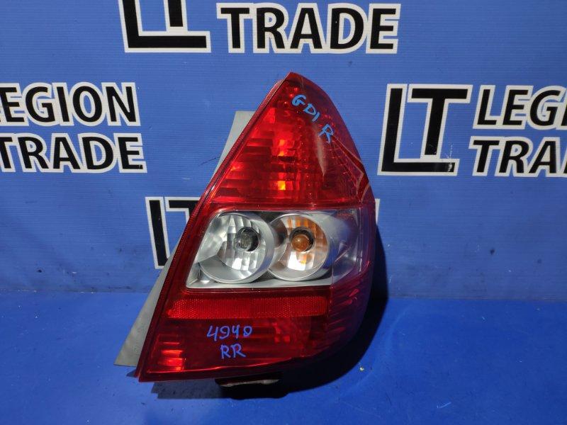 Стоп-сигнал Honda Fit GD1 задний правый
