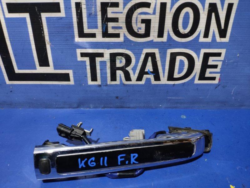 Ручка двери внешняя Nissan Bluebird Sylphy KG11 передняя правая