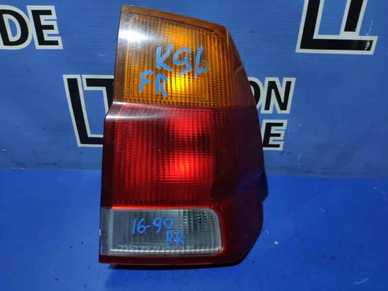 Стоп-сигнал Mitsubishi Challenger K96 задний правый