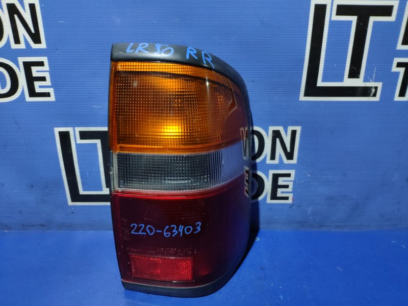 Стоп-сигнал Nissan Terrano LR50 задний правый