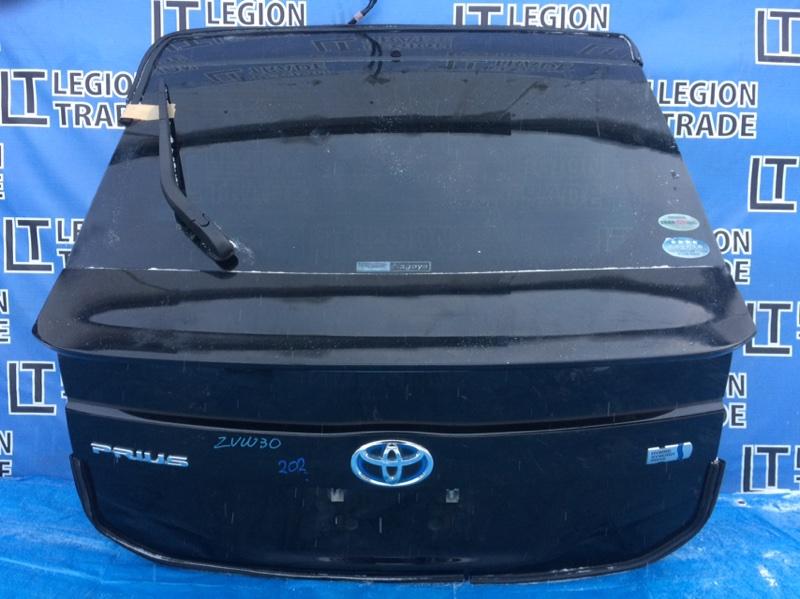 Дверь 5-я Toyota Prius ZVW30