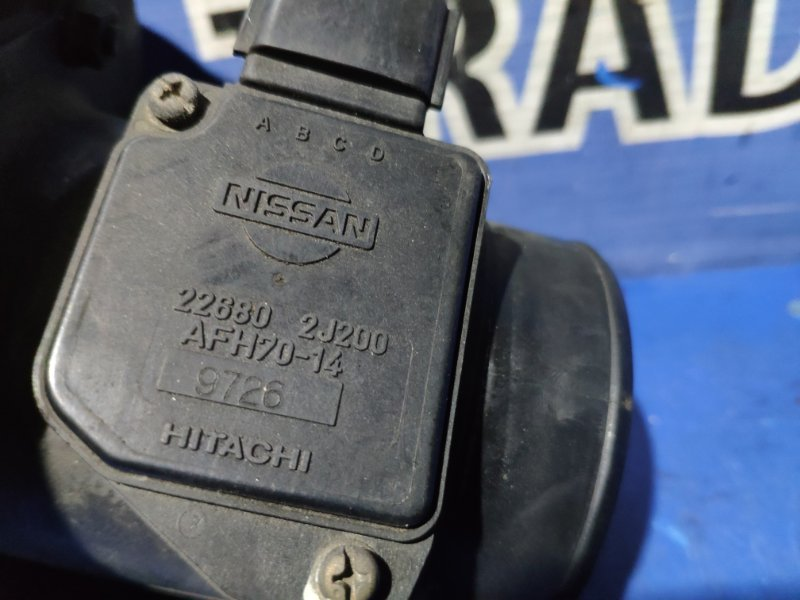 Датчик расхода воздуха Nissan Elgrand ALE50 ZD30DDTI