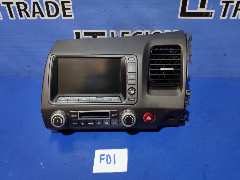 Монитор Honda Civic FD1 R18A