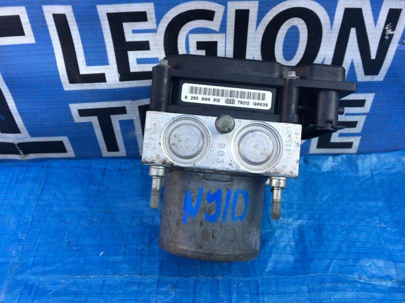 Блок abs Nissan Dualis NJ10 MR20
