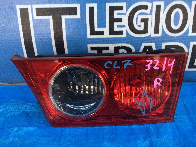 Вставка багажника Honda Accord CL7 задняя правая