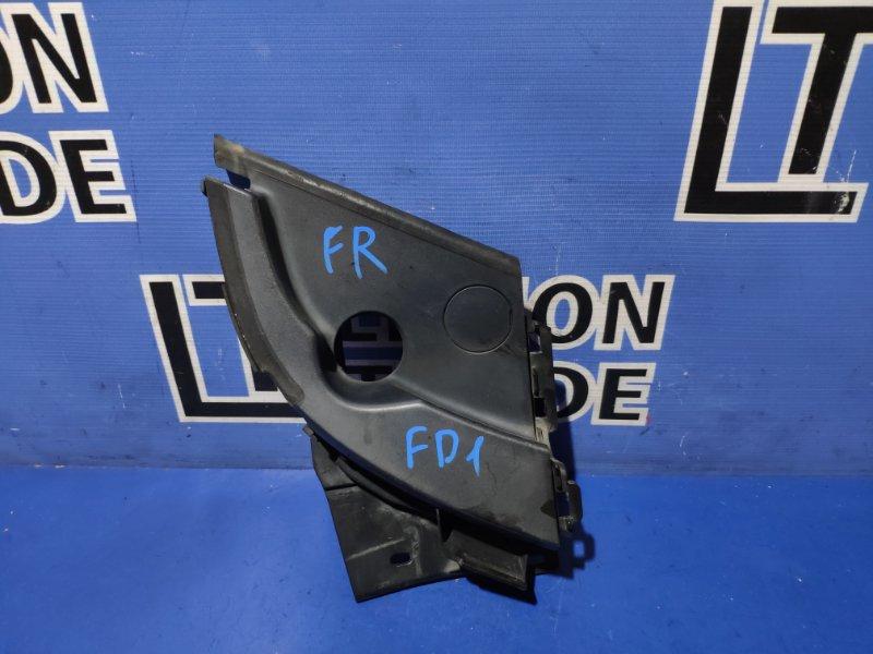 Уголок решетки под дворники Honda Civic FD1 передний правый