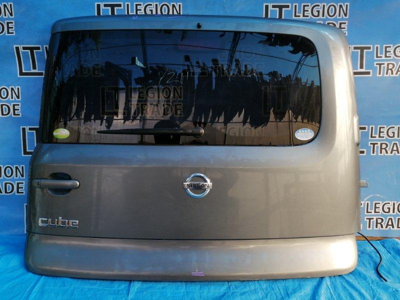 Дверь 5-я Nissan Cube YZ11 HR15DE