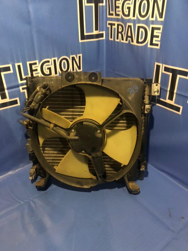 Радиатор кондиционера Honda Logo GA3 D13B