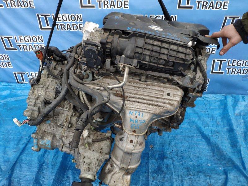 Двигатель Nissan X-Trail NT31 MR20DE 2008