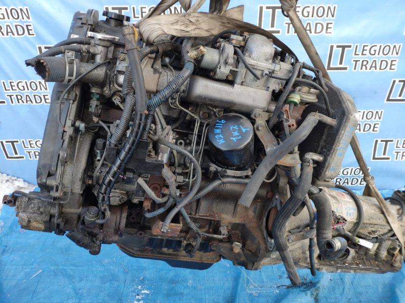 Двигатель Toyota Hiace KZH116 1KZTE