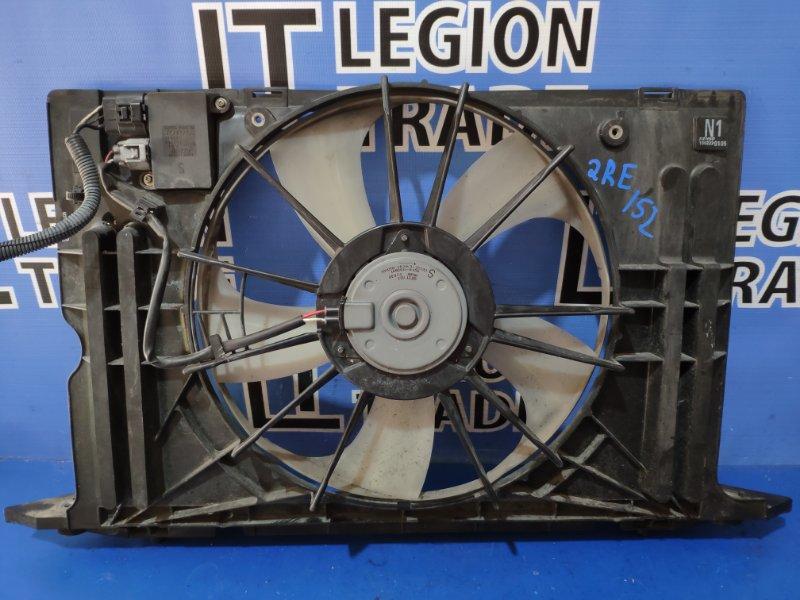 Диффузор радиатора Toyota Corolla Rumion ZRE152 2ZR