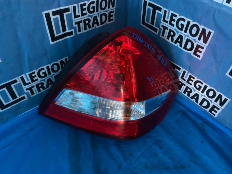 Стоп-сигнал Nissan Tiida Latio C11 задний правый