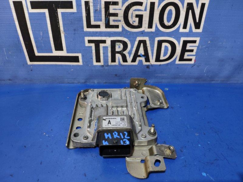 Блок управления автоматом Nissan March K13 HR12DE