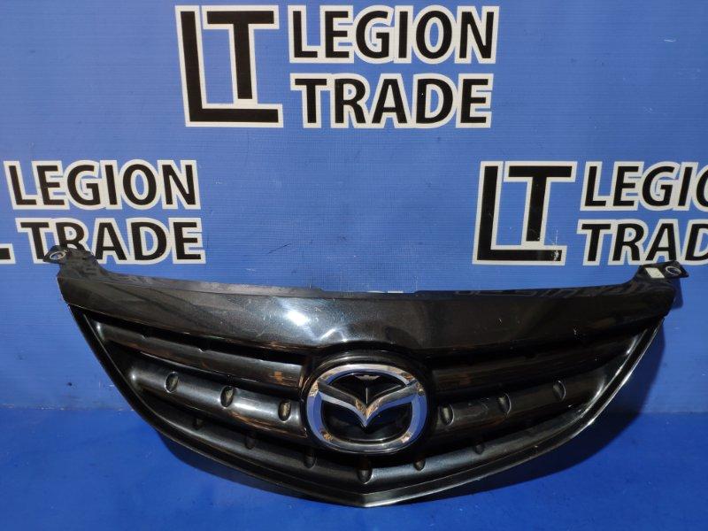 Решетка радиатора Mazda Atenza GG3P L3VE передняя