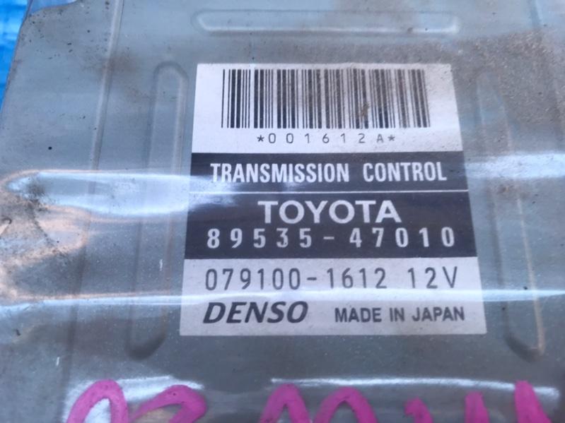 Блок управления автоматом Toyota Prius NHW20 1NZFXE