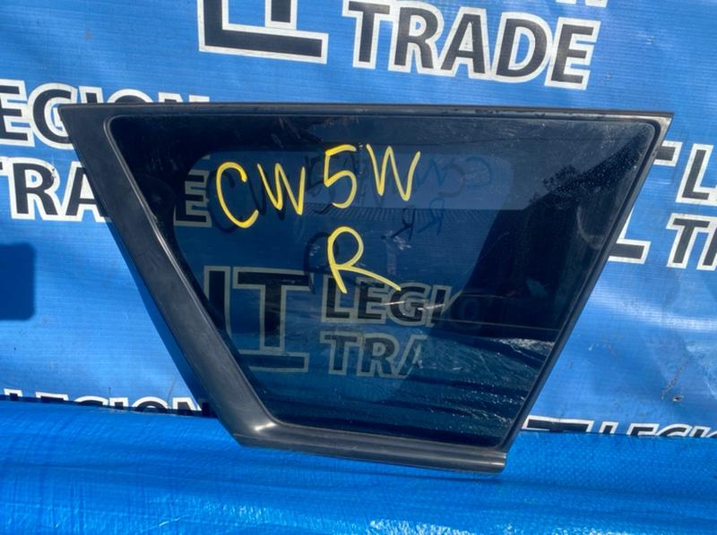 Стекло собачника Mitsubishi Outlander CW5W 4B12 заднее правое