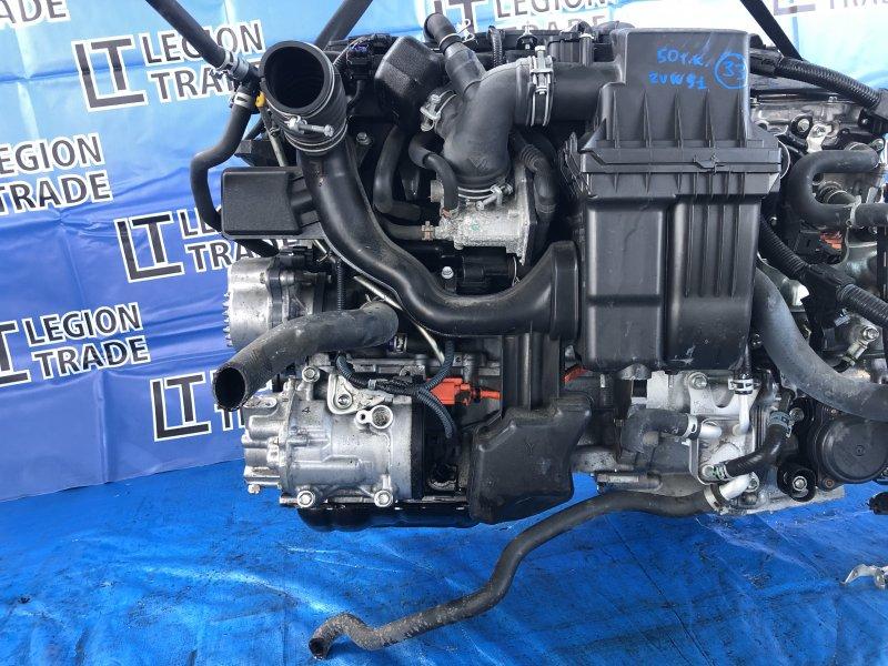 Двигатель Toyota Prius ZVW51 2ZRFXE 06.2017