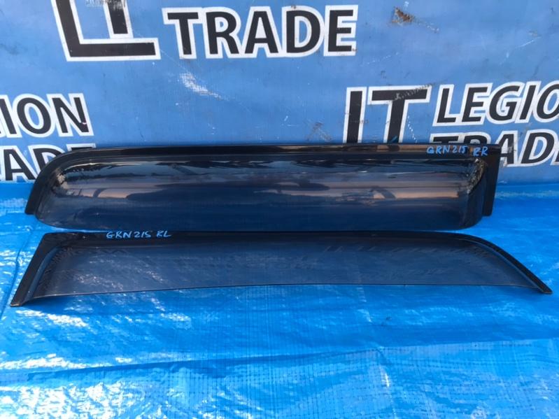 Ветровики комплект Toyota Hilux Surf GRN215 1GRFE 10.2007 задние