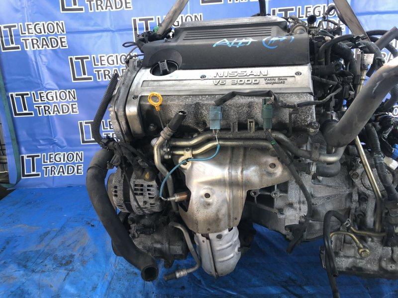 Двигатель Nissan Bassara JHU30 VQ30DE