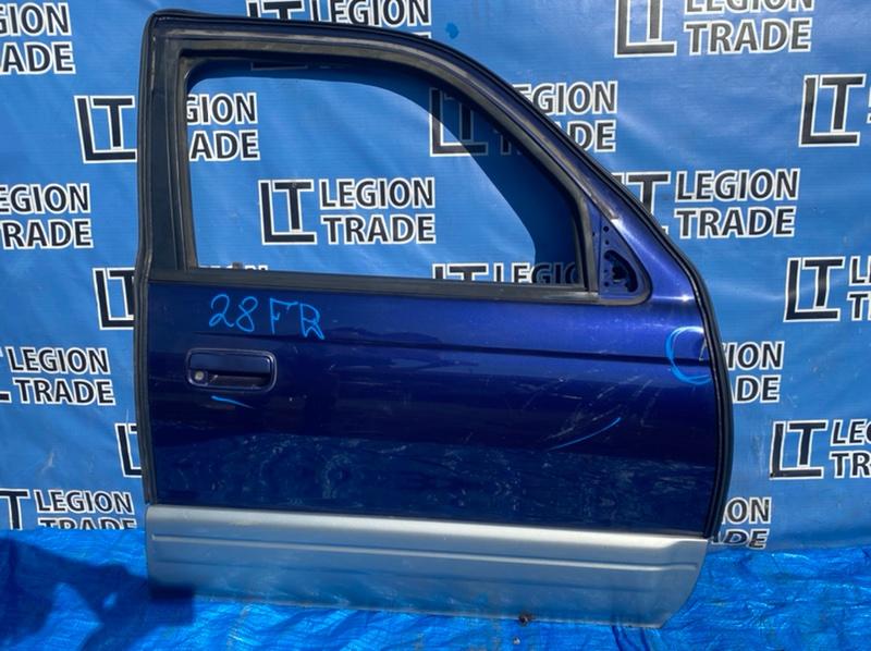 Дверь Toyota Hilux Surf KZN185 1KZTE 1996.10 передняя правая