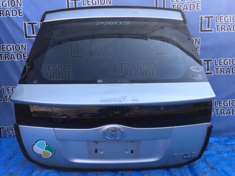 Дверь 5-я Toyota Prius NHW20 1NZFXE 07.2004