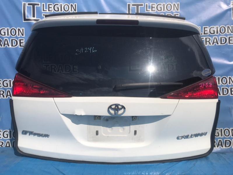 Дверь 5-я Toyota Caldina ZZT241 3SGTE