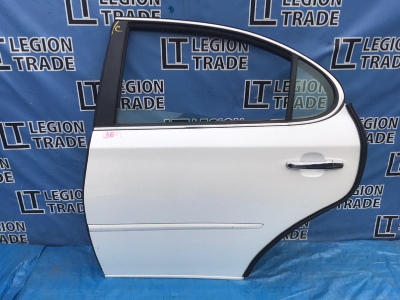 Дверь Toyota Windom MCV30 1MZFE 02.2006 задняя левая
