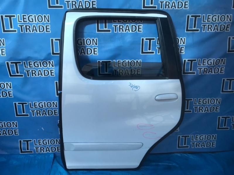 Дверь Toyota Funcargo NCP20 2NZ 07.2003 задняя левая