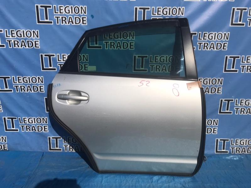 Дверь Toyota Prius NHW20 1NZFXE 07.2004 задняя правая
