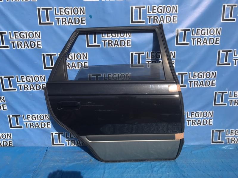 Дверь Toyota Caldina ST210 3SFE 12.1998 задняя правая