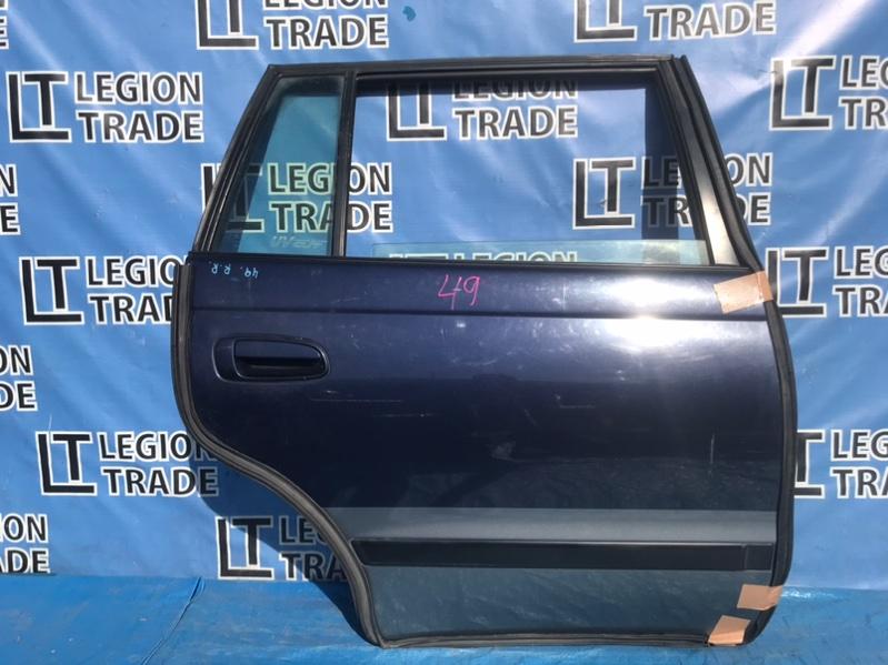 Дверь Toyota Caldina AT191 7AFE 02.1997 задняя правая