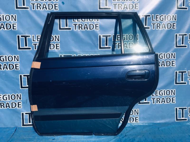 Дверь Toyota Caldina AT191 7AFE 02.1997 задняя левая