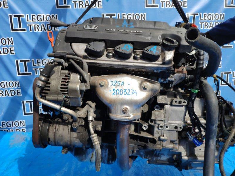 Двигатель Honda Inspire. Saber UA4 J25A