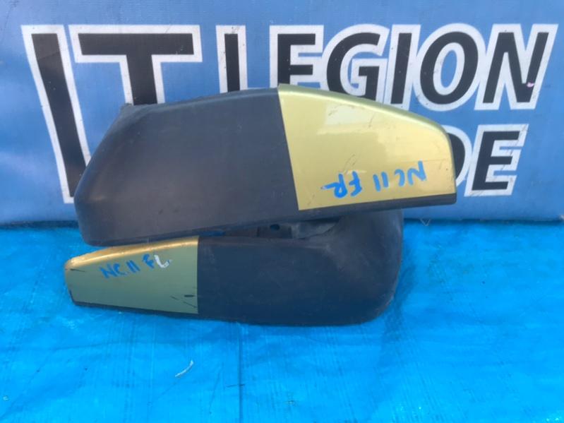 Брызговики комплект Nissan Tiida C11 передние