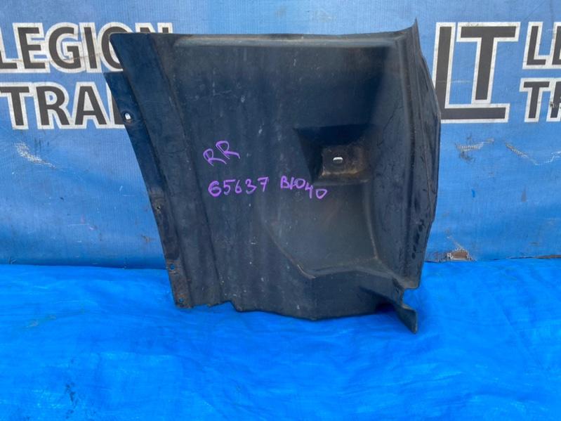Защита двигателя Toyota Bb NCP31 1NZFE задняя правая