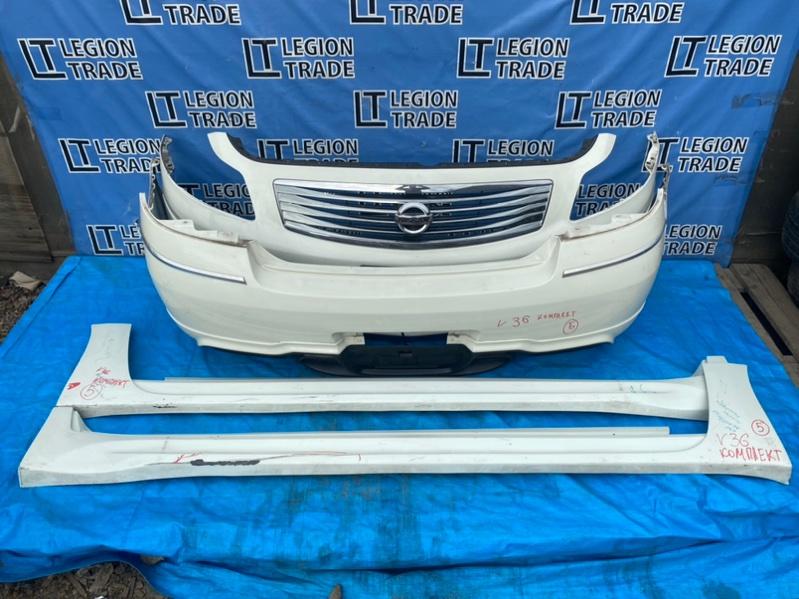 Бампер Nissan Skyline V36 VQ35HR