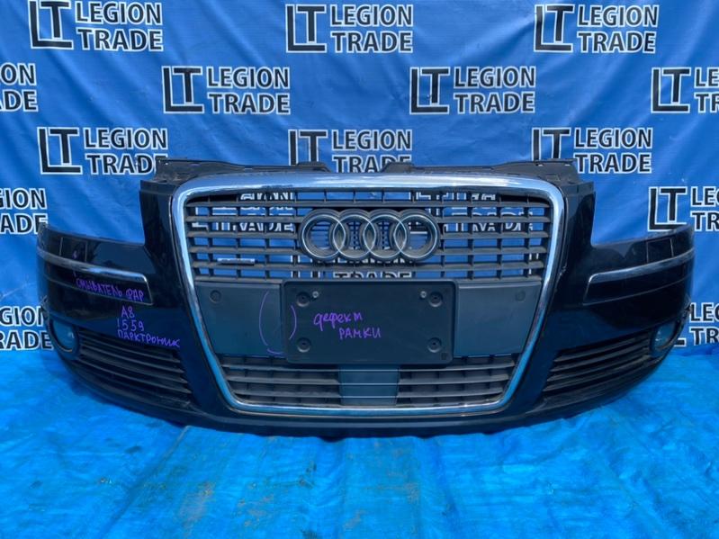 Бампер Audi A8 4E2 BGK 2006 передний