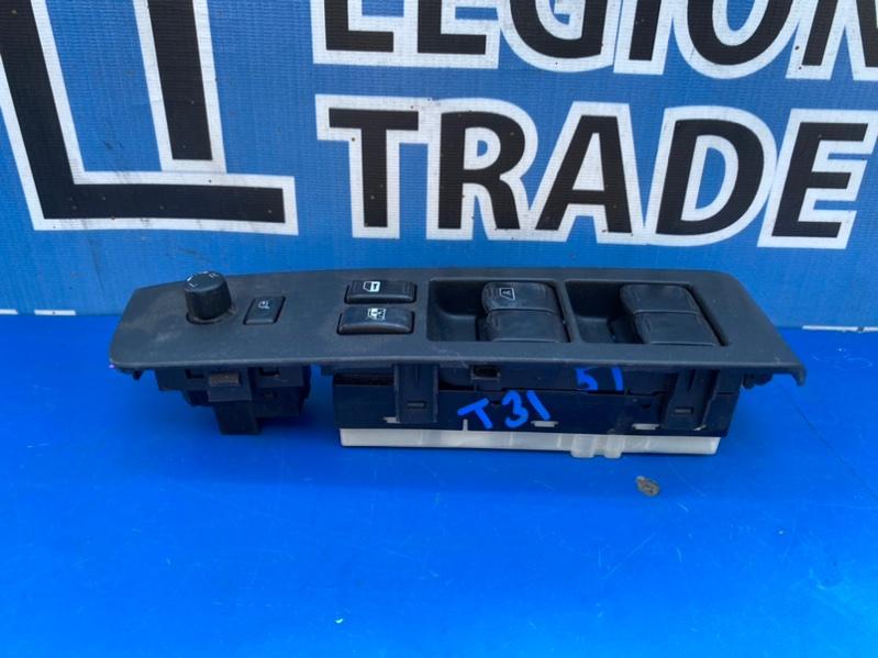Блок управления стеклами Nissan X-Trail TNT31 QR25DE 08.2007 передний правый