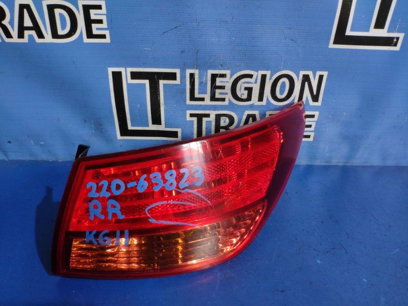 Стоп-сигнал Nissan Bluebird Sylphy KG11 задний правый