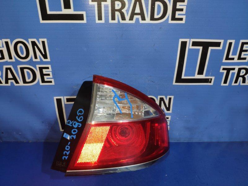 Стоп-сигнал Subaru Legacy BL5 EJ203 задний правый