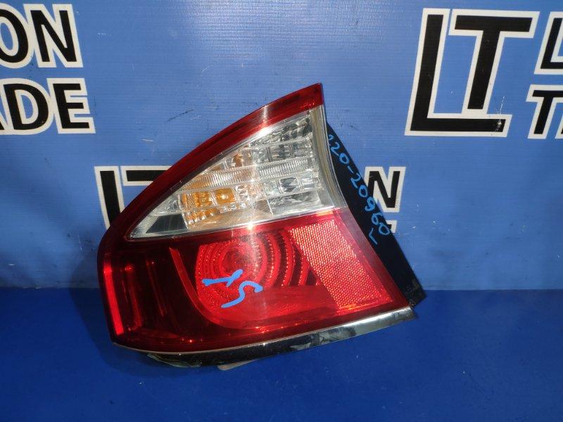 Стоп-сигнал Subaru Legacy BL5 EJ203 задний левый