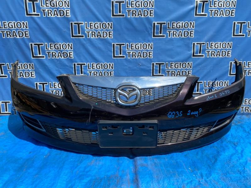 Бампер Mazda Atenza GG3P L3VE передний