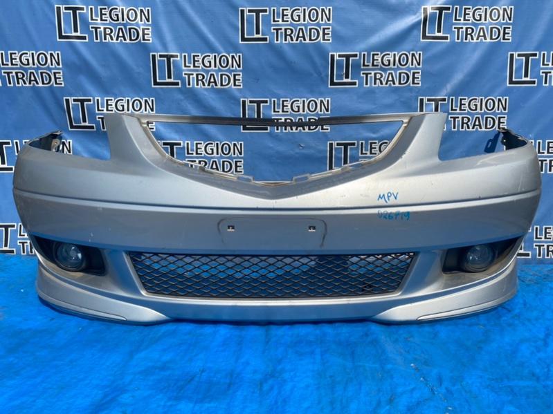 Бампер Mazda Mpv LW3W L3VE передний