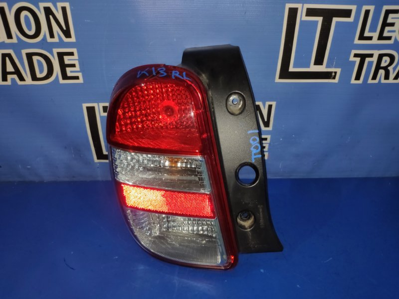 Стоп-сигнал Nissan March K13 HR12DE задний левый