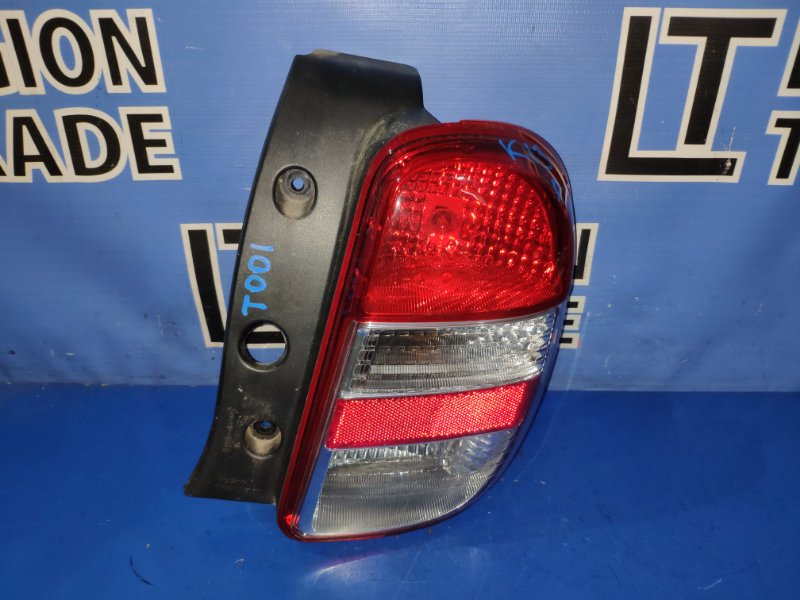 Стоп-сигнал Nissan March K13 HR12DE задний правый
