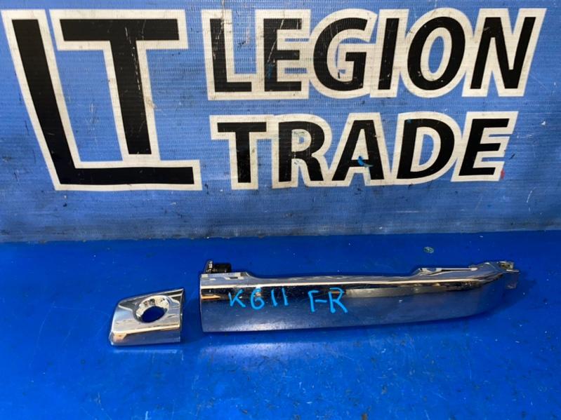 Ручка двери внешняя Nissan Bluebird Sylphy KG11 MR20DE передняя правая