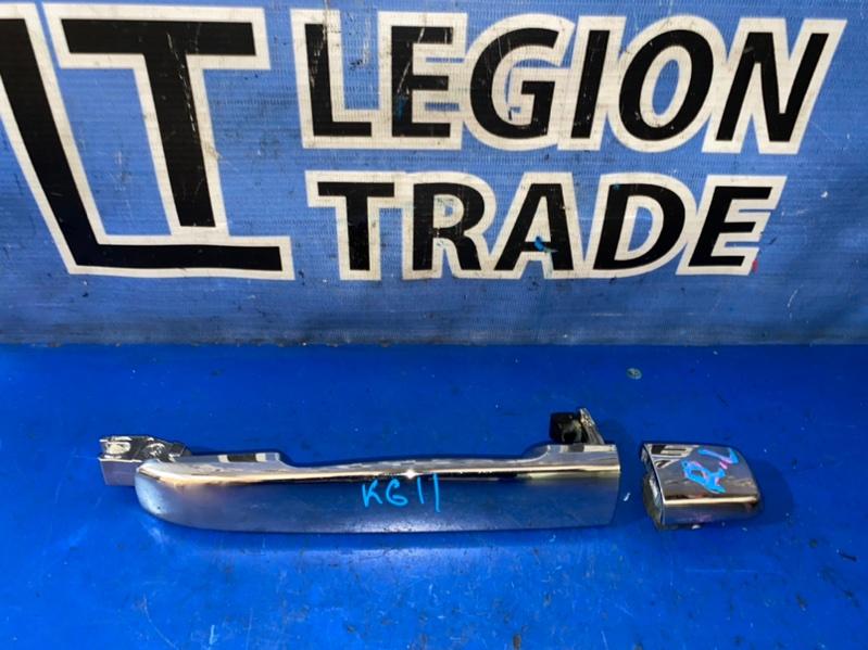 Ручка двери внешняя Nissan Bluebird Sylphy KG11 MR20DE задняя левая