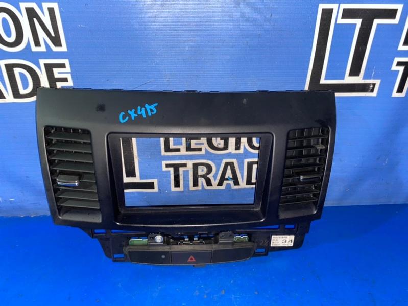 Консоль магнитофона Mitsubishi Galant Fortis Sportback CX4A 4B11 11.2008