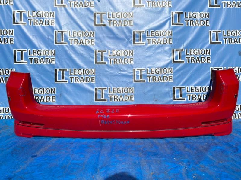 Бампер Toyota Raum NCZ20 `1NZFE задний
