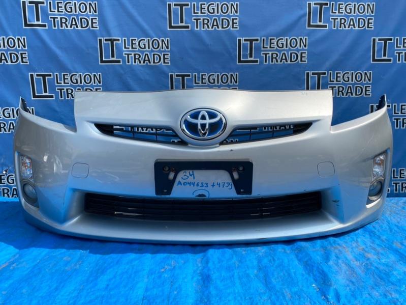 Бампер Toyota Prius ZVW30 2ZRFXE 10.2011 передний